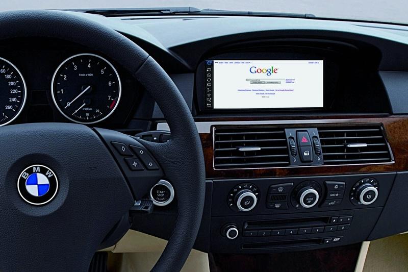 Bmw Google World Debut For Unrestricted Internet Use At