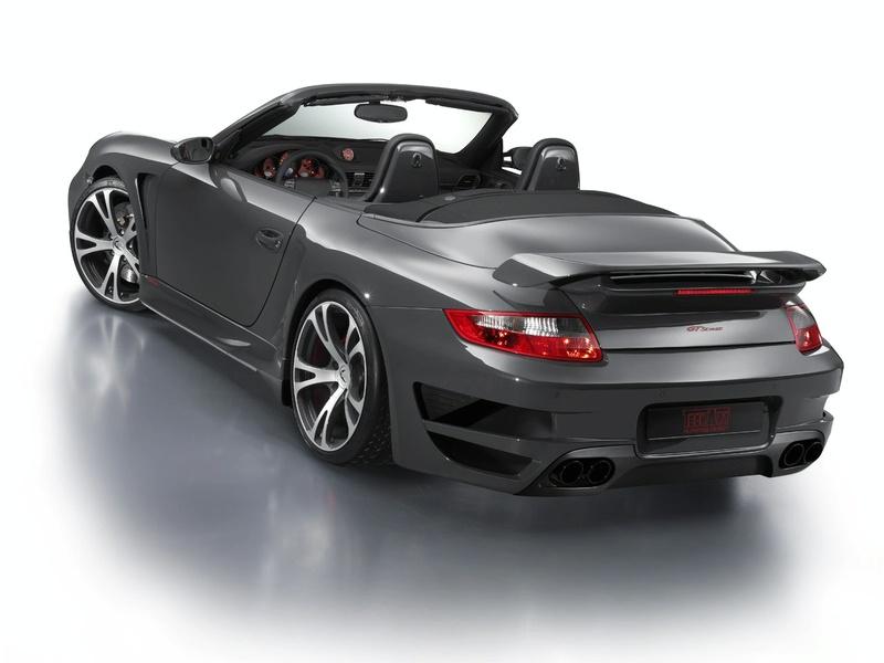Techart Gtstreet Porsche 911 Turbo Cabriolet Revealed It