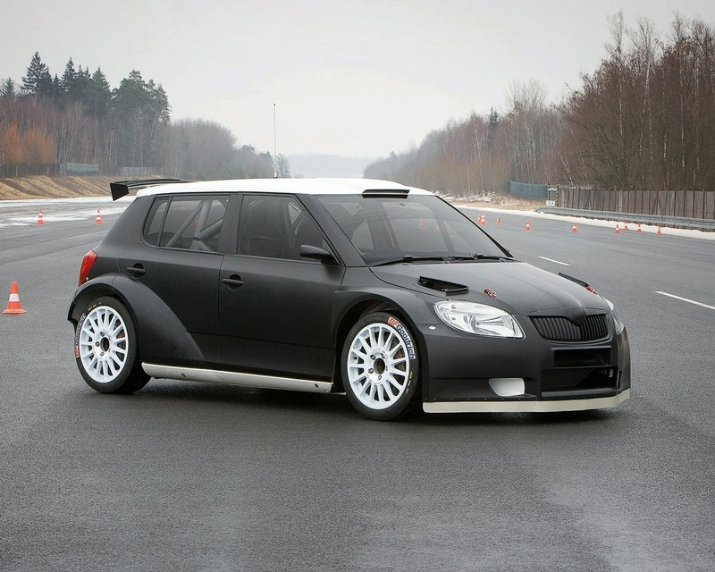skoda fabia s2000 prototype testing it s your auto world new cars auto news reviews. Black Bedroom Furniture Sets. Home Design Ideas