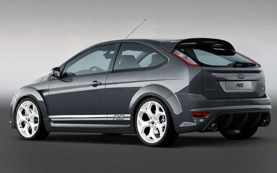 2009 Ford Focus Rs. New Ford Focus RS Concept