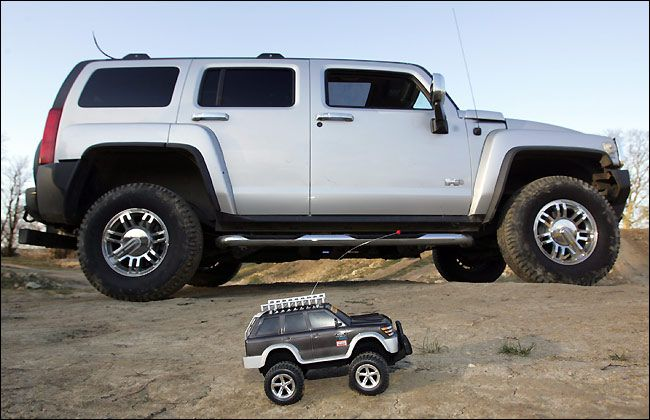 race remote control cars with The Biggest Remote Controlled Car Big Boys Toy A 34000 Hummer H3 Photo Video on Fast Petrol Remote Control Cars additionally Showthread furthermore How 4909645 make Car Lifesavers moreover 32698860777 further 1 12 Scale Rc Car Body.
