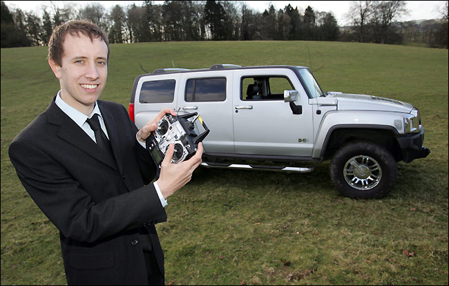 The Biggest Remote Controlled Car Big Boys Toy A 34 000 Hummer