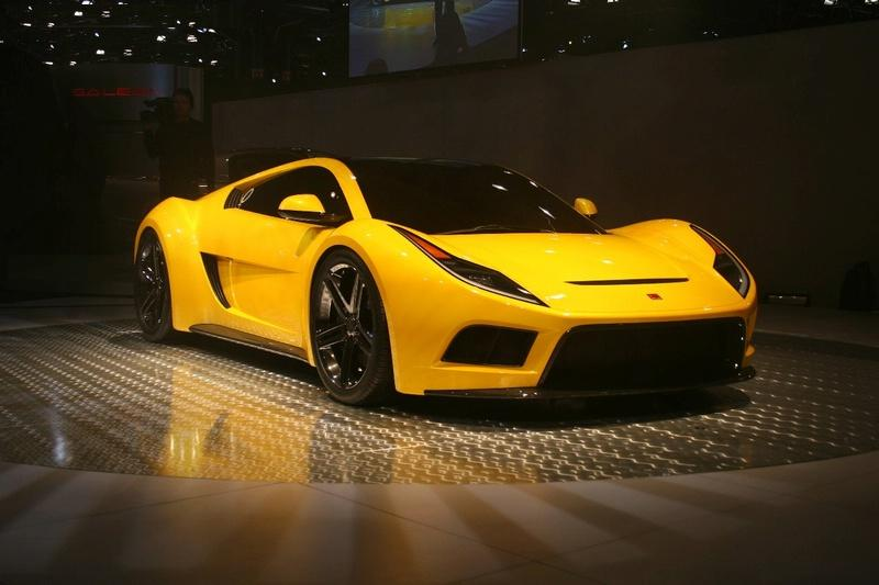 Saleen S7 Launching Picture