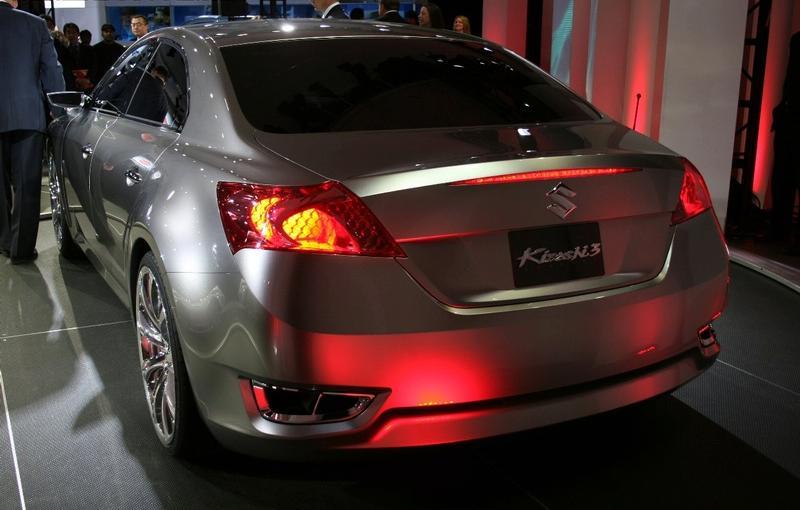 New Suzuki Kizashi 3 Concept Revealed At New York International Auto