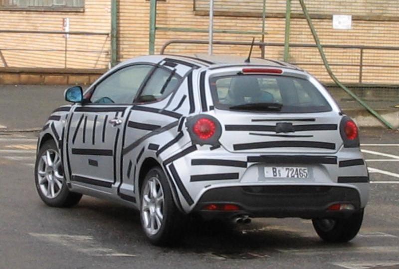 new alfa romeo mito spy photo it s your auto world new cars auto news reviews photos. Black Bedroom Furniture Sets. Home Design Ideas