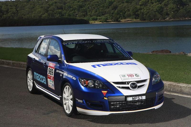 mazda 3 mps rally car revealeda and ready for targa. Black Bedroom Furniture Sets. Home Design Ideas