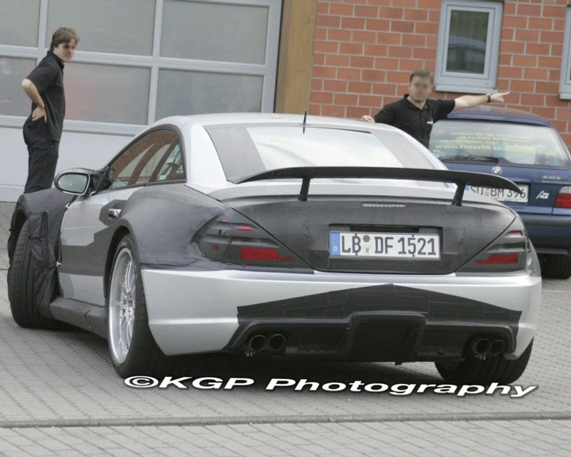 Mercedes Sl 65 Black Series More Details And Spy Photo