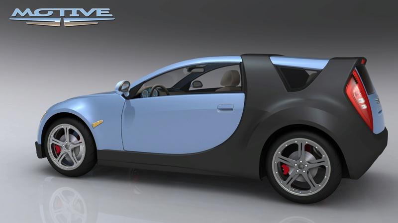 Hybrid Pickup Trucks >> Motive BEHEV Electric Car Renderings (detail photo)   It's ...