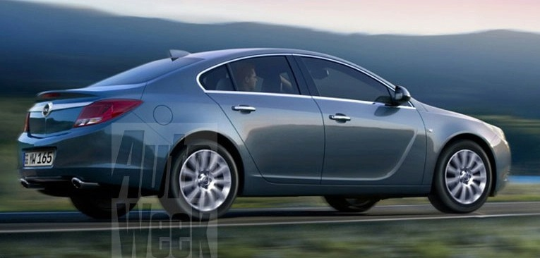 new 2008 opel insignia leaked photo it s your auto world new