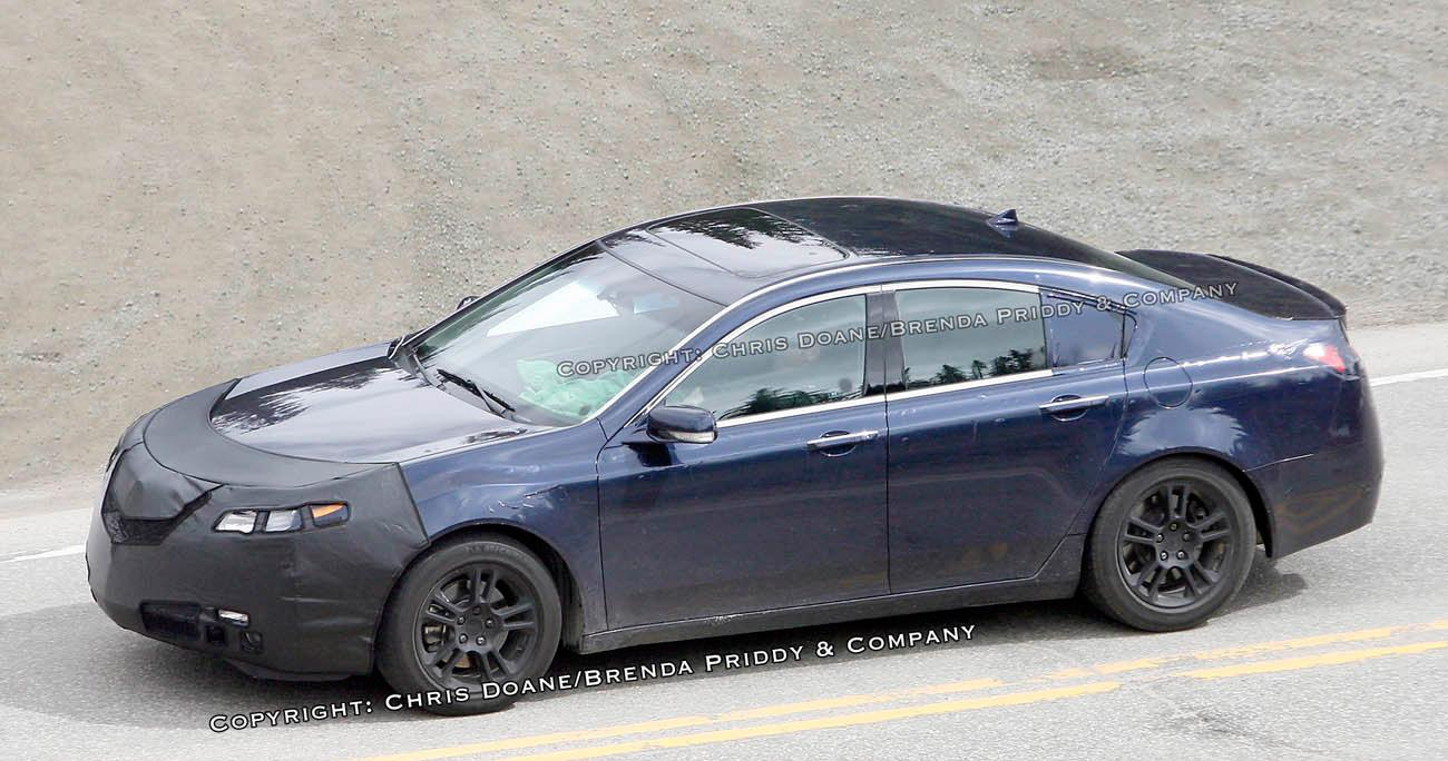 new 2009 acura tl spied photo it s your auto world new cars