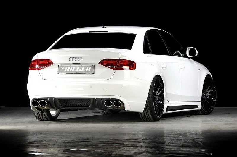 Great Tuning Audi A4 3 0 Tdi By Rieger It S Your Auto World New