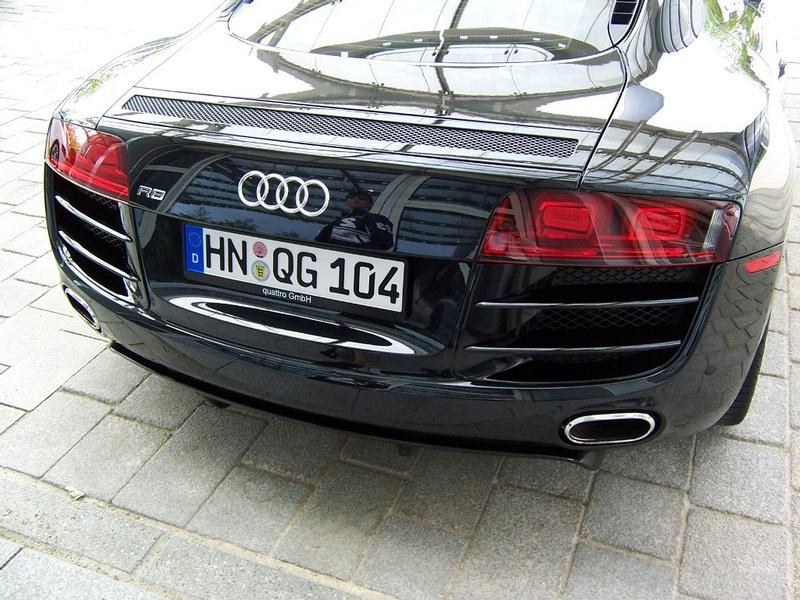 audi r8. More Power: New Audi R8 V10