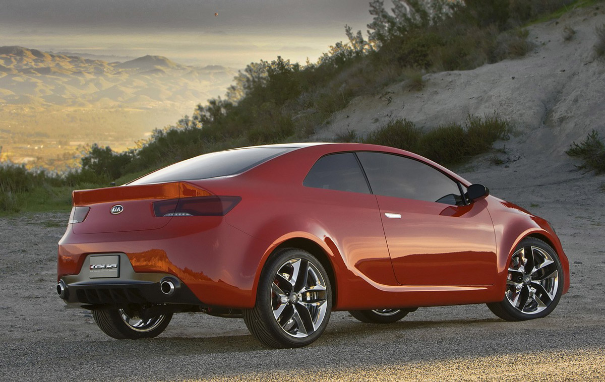 Kia Coupe Concept Img 2 It S Your Auto World New Cars Auto News Reviews Photos Videos