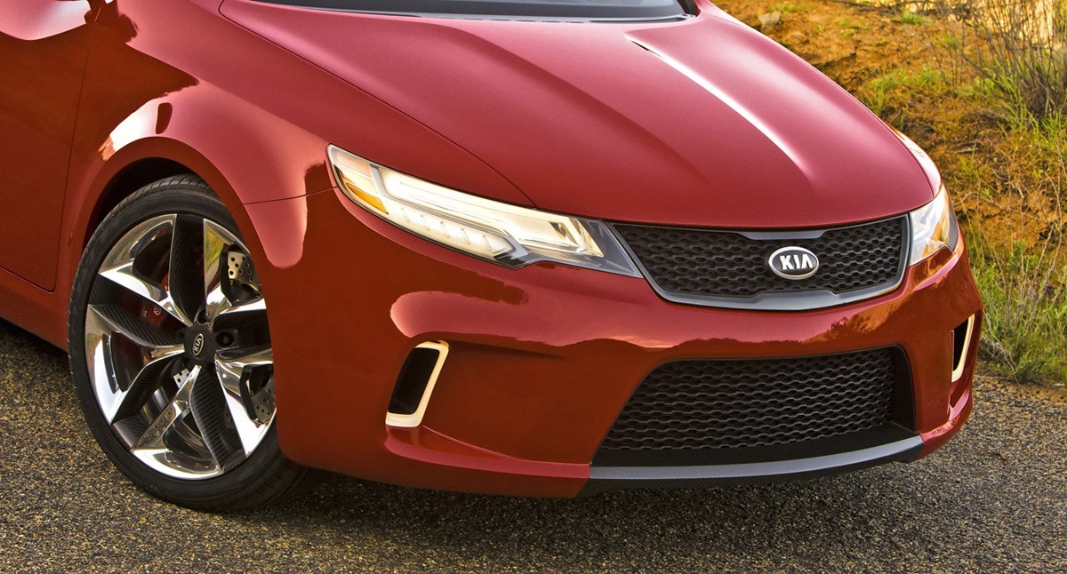 New Kia Coupe Concept KOUP replace Spectra   Its your auto
