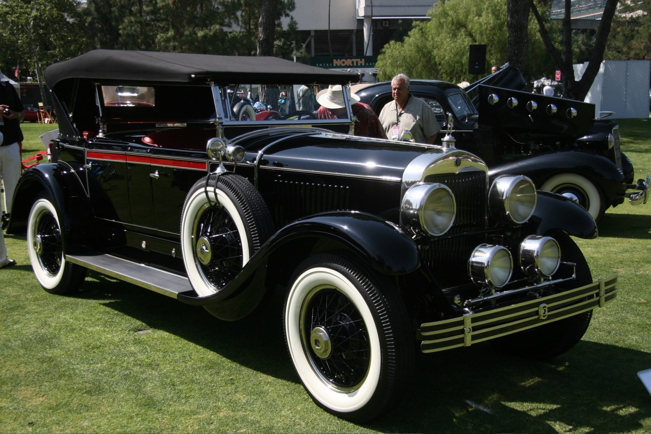 La Car Concours 1927 Cadillac Dual Cowl Phaeton Img 54