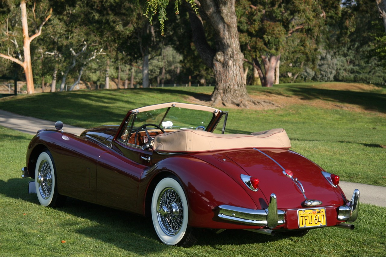 La Car Concours 1956 Jaguar Xk140 Img 13 It S Your Auto World