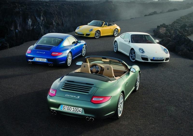 2009 Porsche 911 4 color