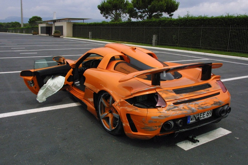 Carrera Gt Crash