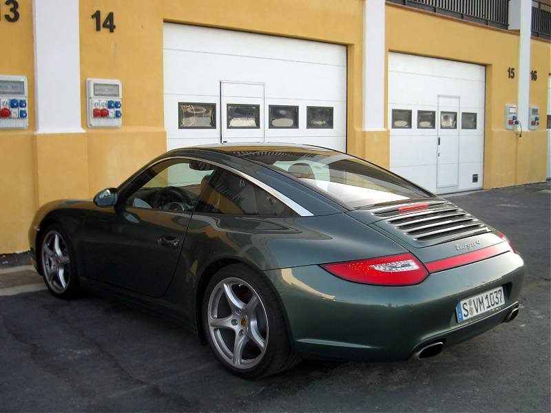 New 2009 Porsche 911 Targa 4 And Targa 4s Photo And