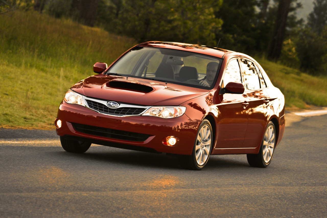 new 2009 subaru impreza wrx and wrx sti with 265 hp engine. Black Bedroom Furniture Sets. Home Design Ideas
