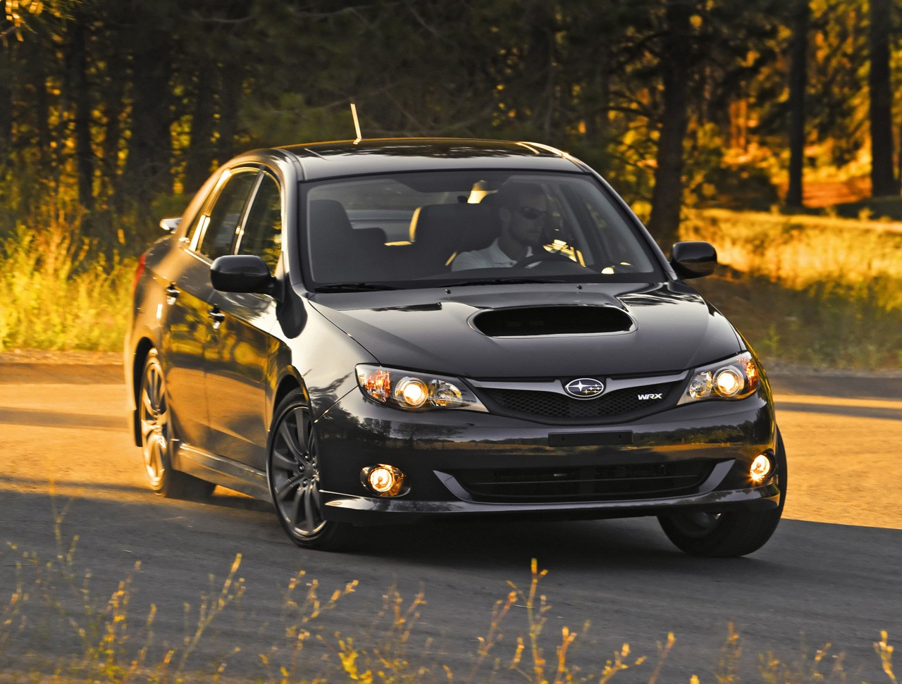 New 2009 Subaru Impreza WRX and WRX STI with 265 Hp engine