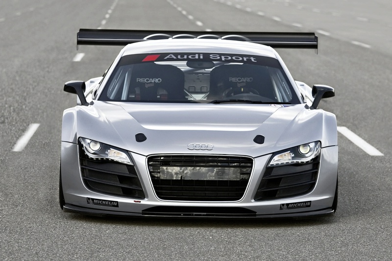Superior Audi Presented GT3 Sports Car With 500hp Engine