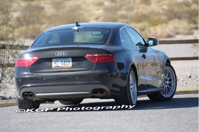 New Audi RS5 Spied Again In The California Desert (spy photo)
