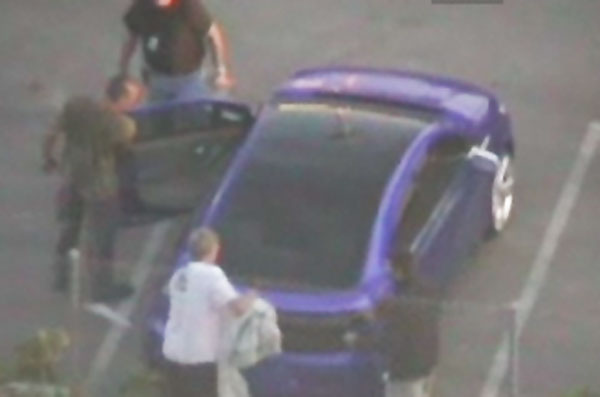 Chevrolet Volt Spied on Transformers 2 set (spy shots)