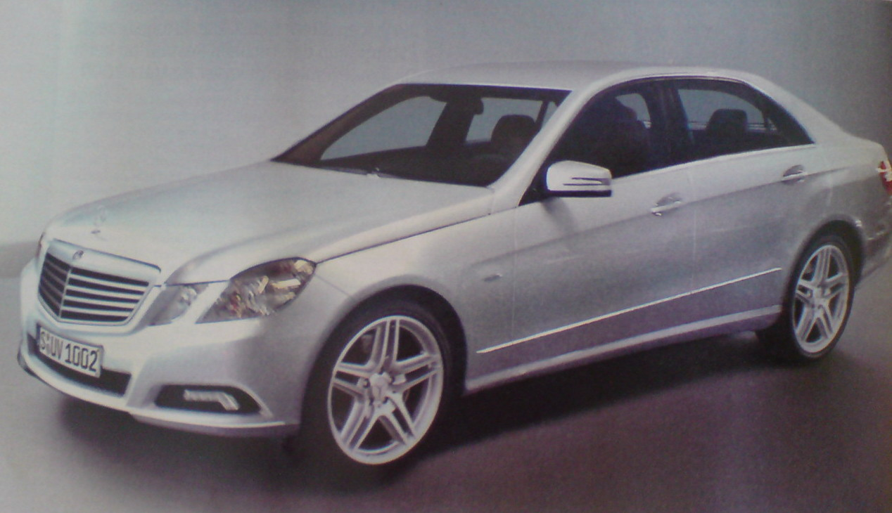 new 2009 mercedes e class leaked in german automag photo and details it s your auto world. Black Bedroom Furniture Sets. Home Design Ideas