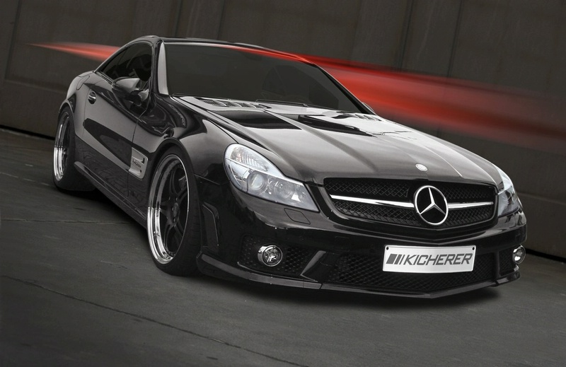 mercedes amg 63. Tuning car: Mercedes SL 63 AMG