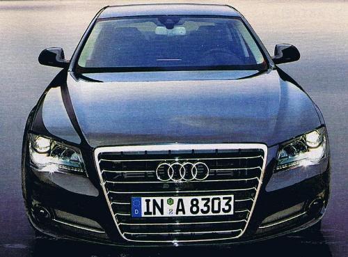2010 Audi A8 Car