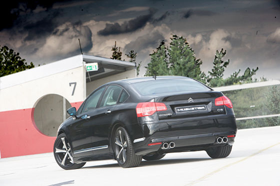 citroen c5 tuning by musketier img 2 it s your auto. Black Bedroom Furniture Sets. Home Design Ideas