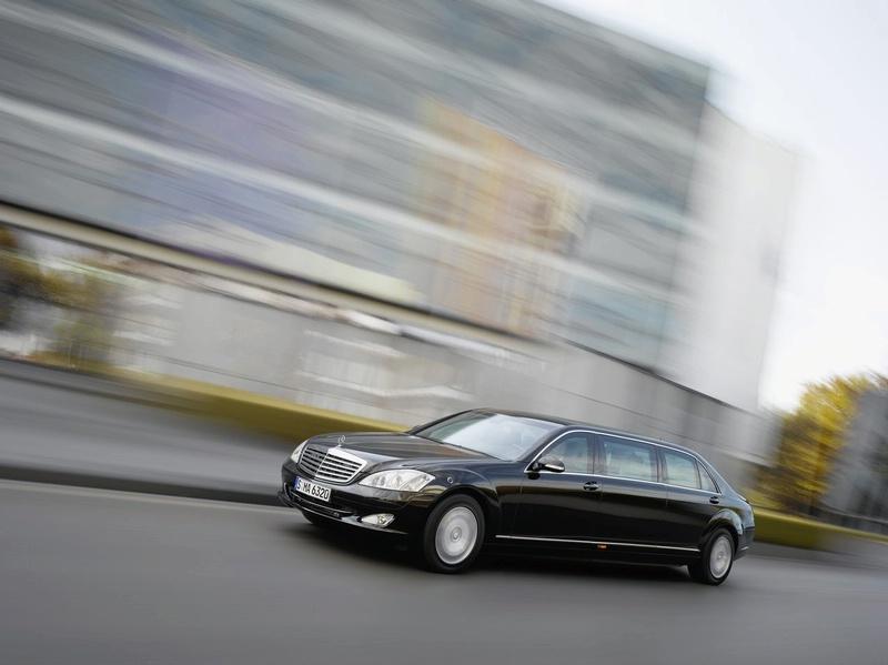 New luxury mercedes benz s 600 pullman guard limousine for Mercedes benz limousine price