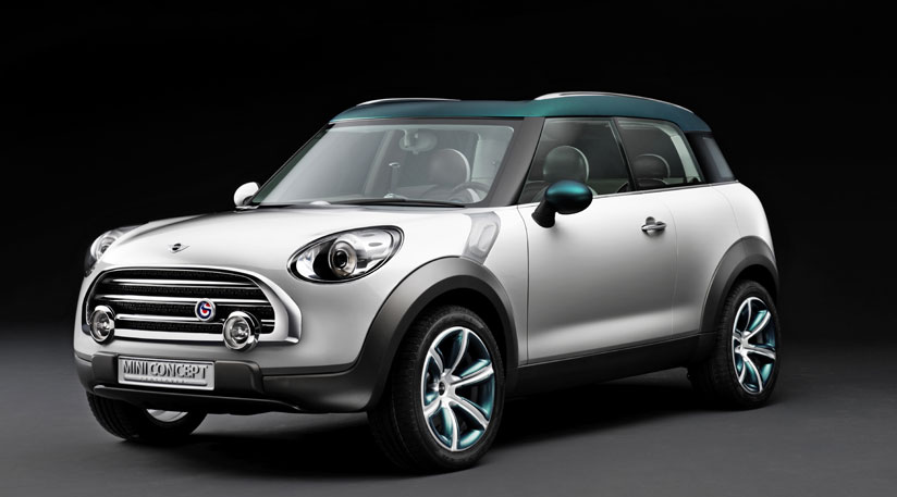 New 2010 Mini Crossover Concept Its Your Auto World New Cars
