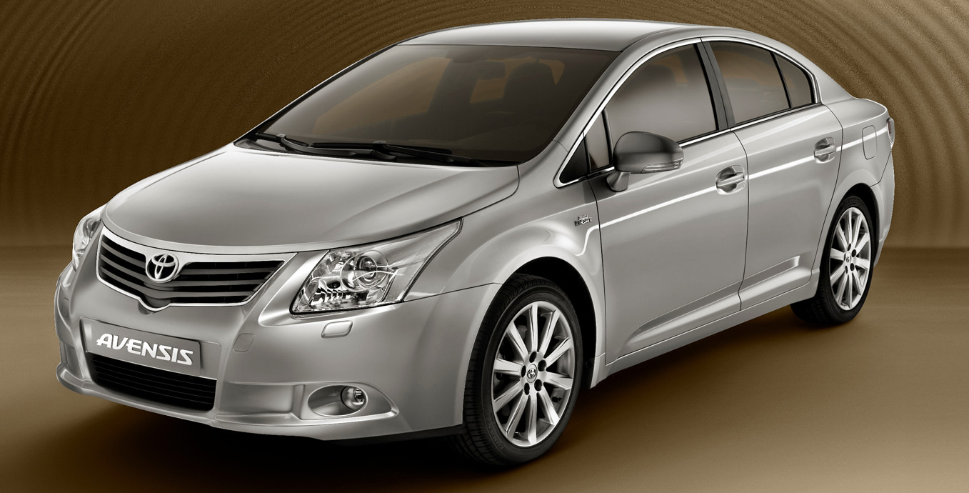 First Official Images of New 2009 Toyota Avensis