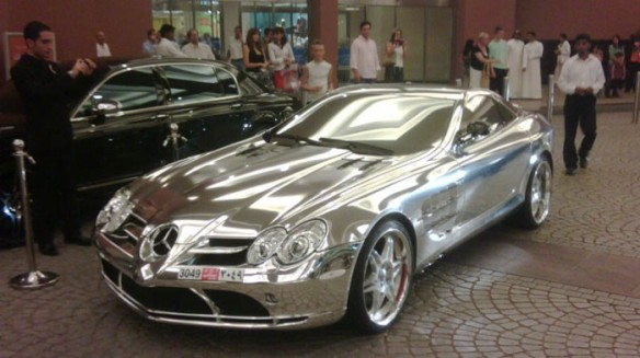 Mercedes Mclaren Slr Chromed It S Your Auto World New Cars Auto News Reviews Photos Videos