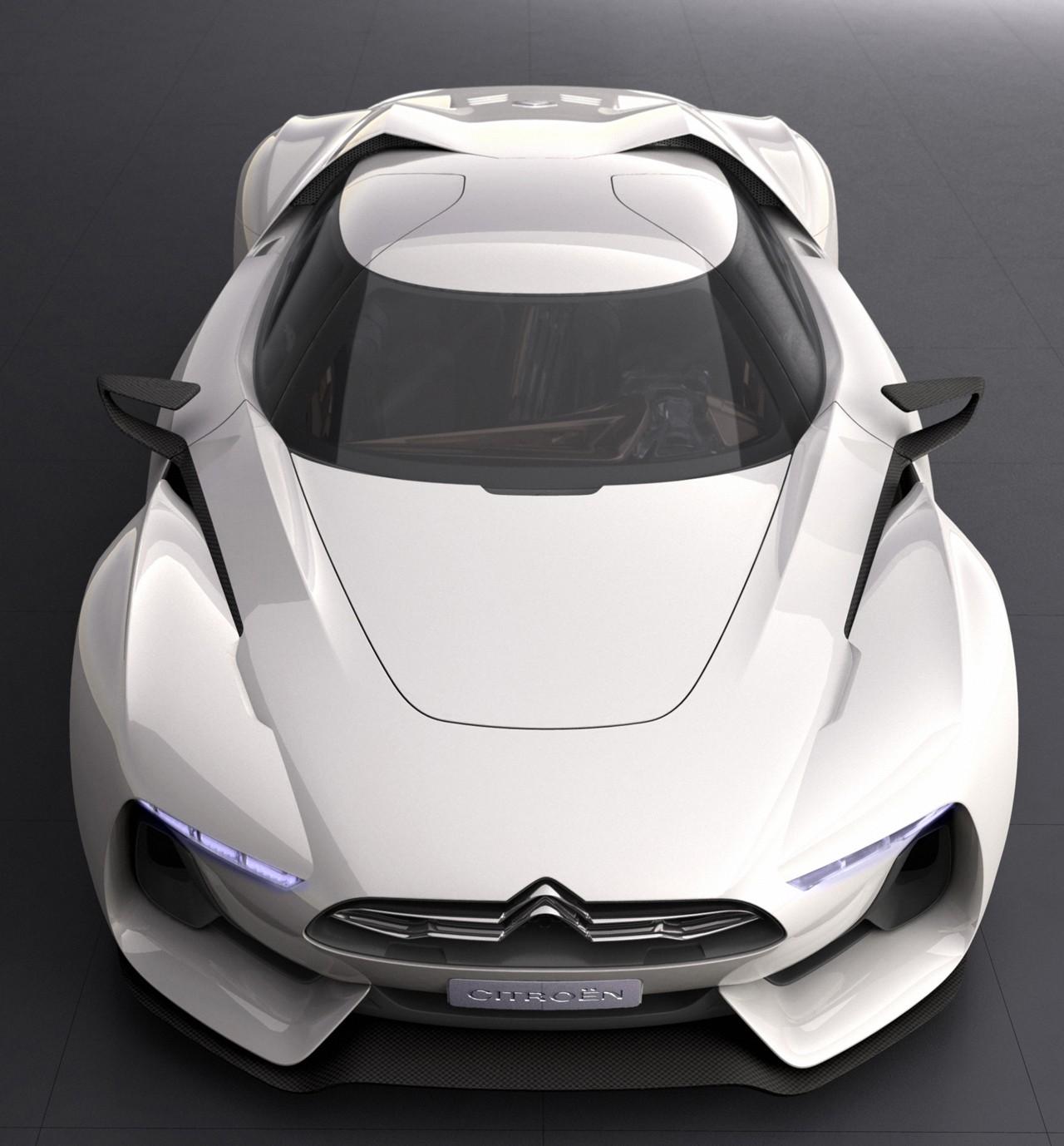 """GT-by-CITROEN"" Concept Revealed At Paris Motor Show"