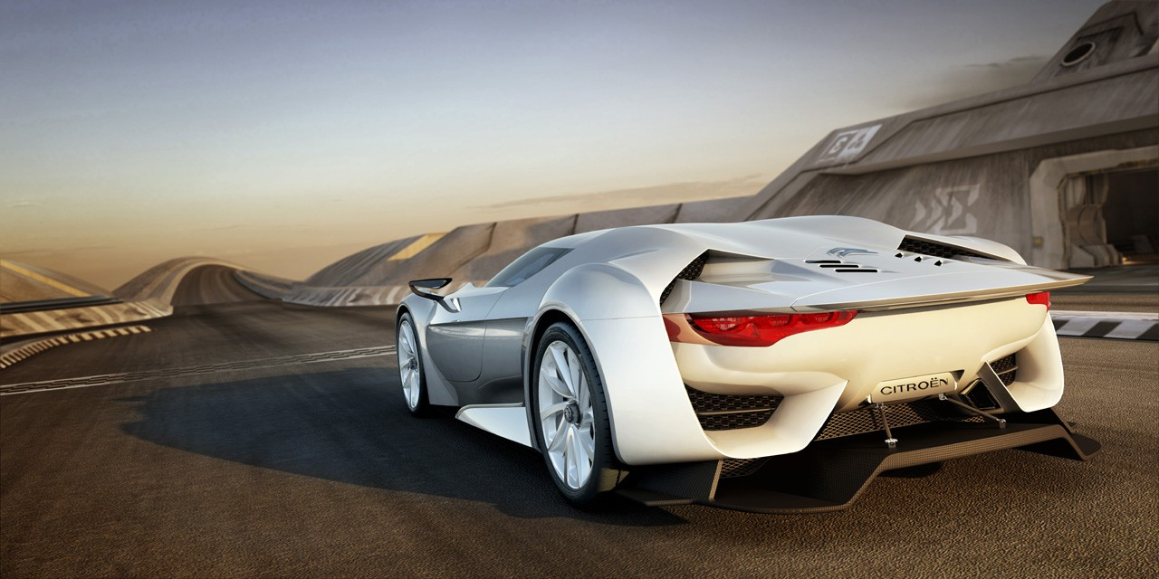 2009 Citroen GTbyCITROEN Concept Rear View