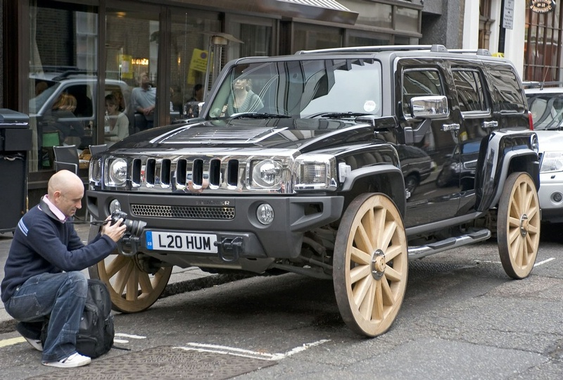 Hummer H3 With Wagon Wheels Img 2 It S Your Auto World New Cars