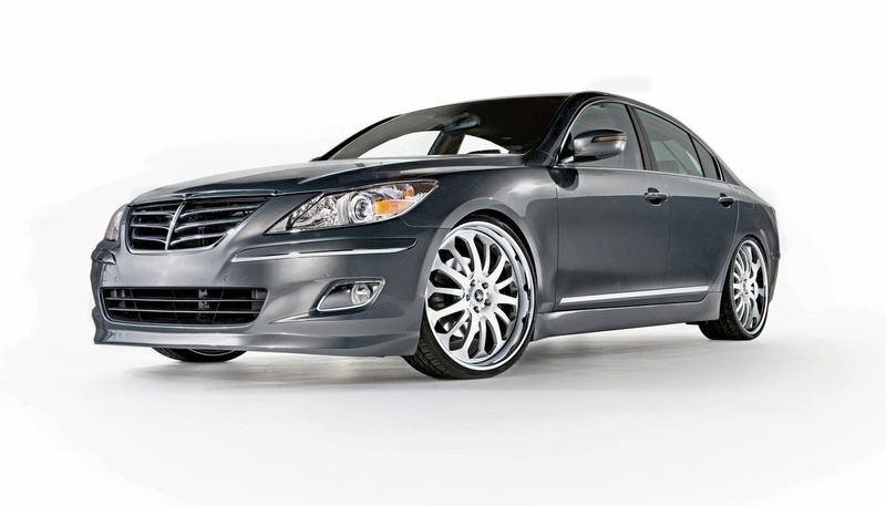 Hyundai Genesis Sedan Body Kit. The RIDES Genesis Sedan