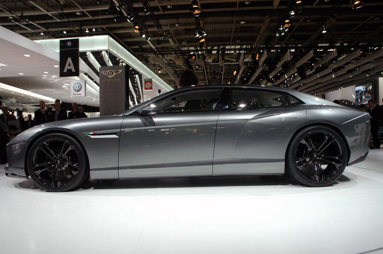 Lamborghini Estoque Concept Live At Paris2008 Img 2 It S Your Auto World New Cars Auto
