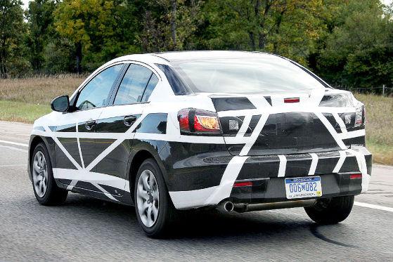 Latest Spy Photo of new 2010 Mazda 3 Sedan | It's your ...