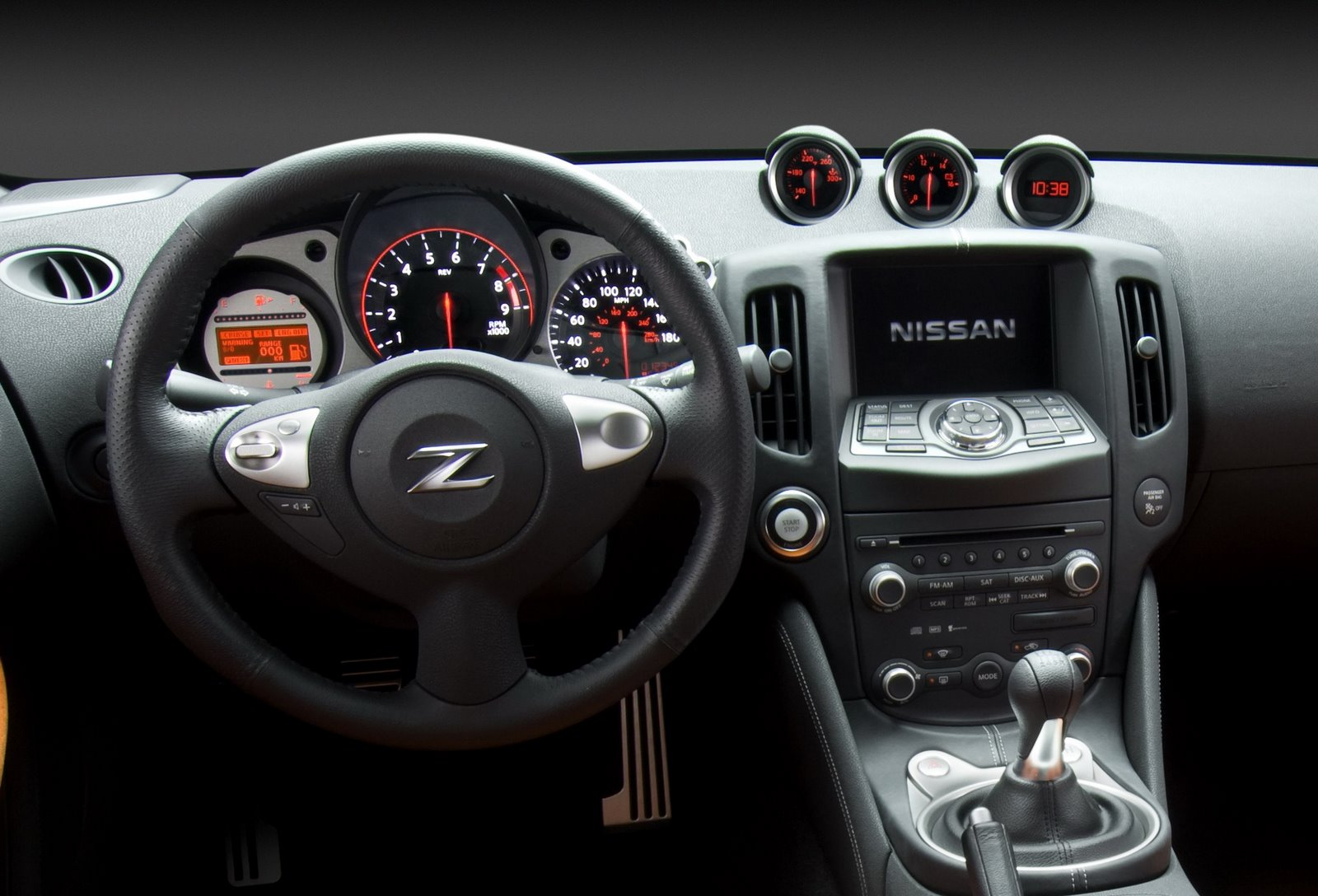 First Official Photos Of New 2009 Nissan 370z It S Your