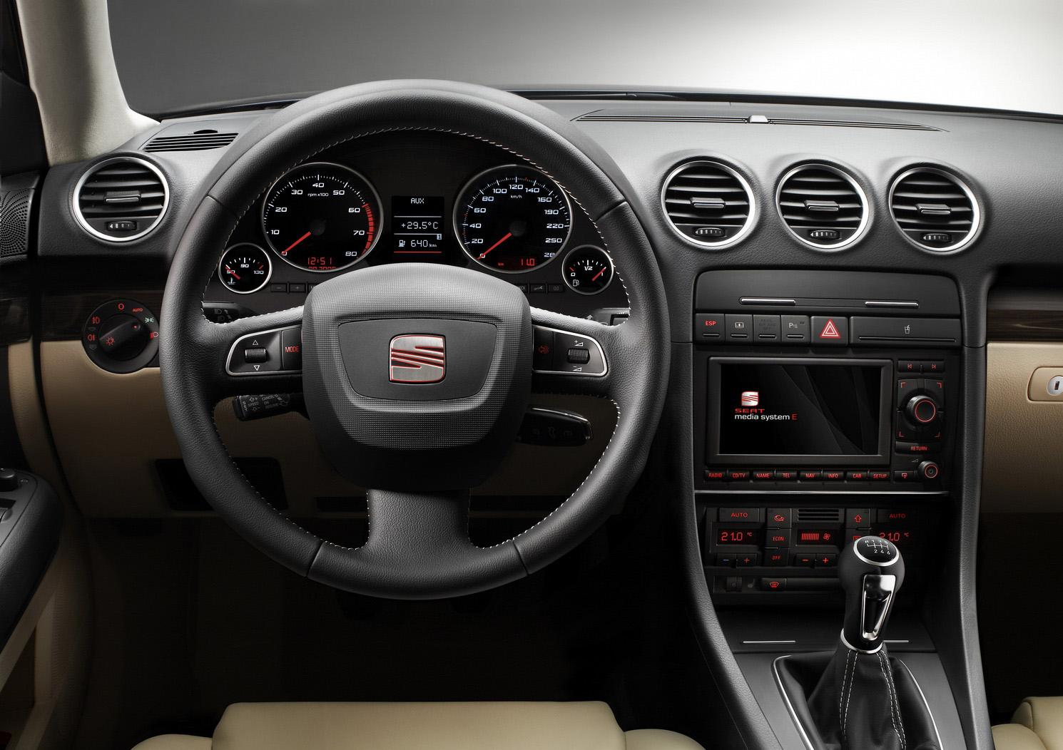 new seat exeo unveiled at paris motor show photo and