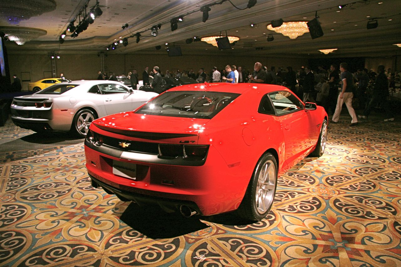 LIVE at SEMA 2008: Four Chevrolet Camaro Concepts and Accessories Revealed | It's your auto