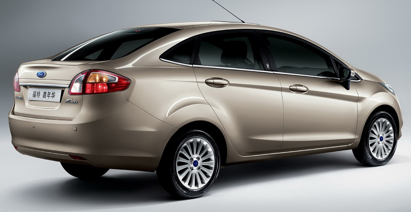 all new 2010 ford fiesta sedan revealed in china it s your auto world new cars auto news. Black Bedroom Furniture Sets. Home Design Ideas
