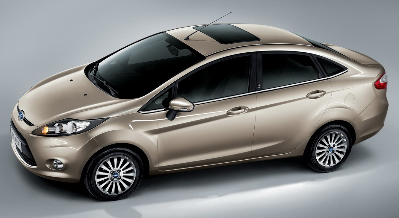 All New Ford Fiesta Sedan
