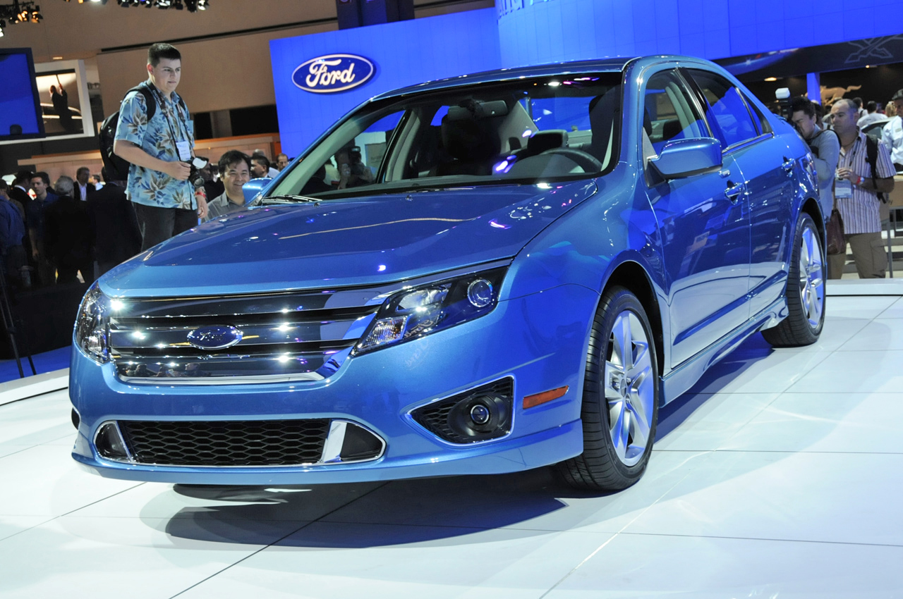 new 2010 ford fusion sport and hybrid debut at the l a show 2008 it s your auto world new. Black Bedroom Furniture Sets. Home Design Ideas