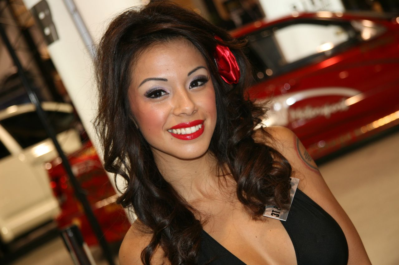 hot Babes at the SEMA Show