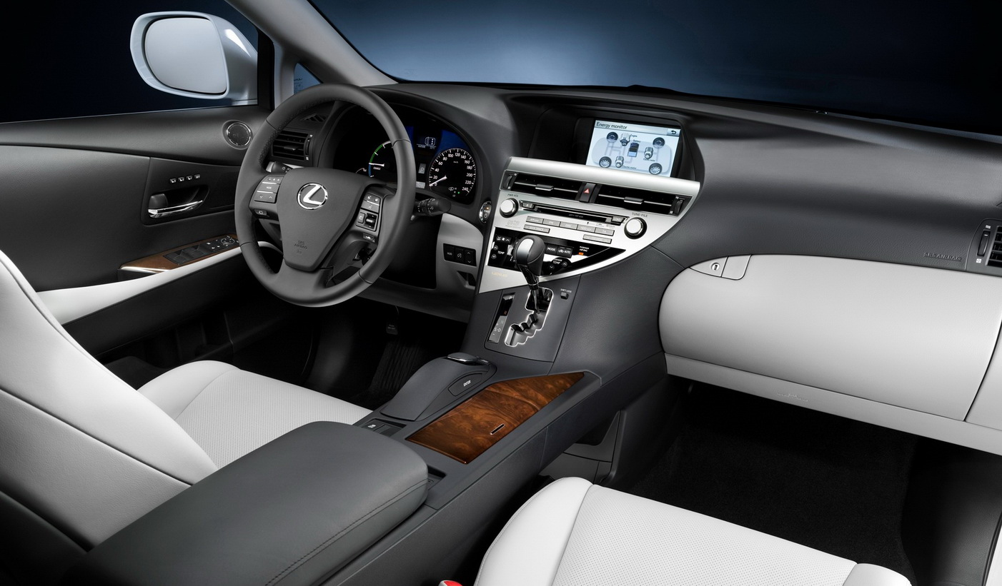 L A Autoshow New 2010 Lexus Rx350 And Rx450h Revealed It S Your Auto World New Cars Auto